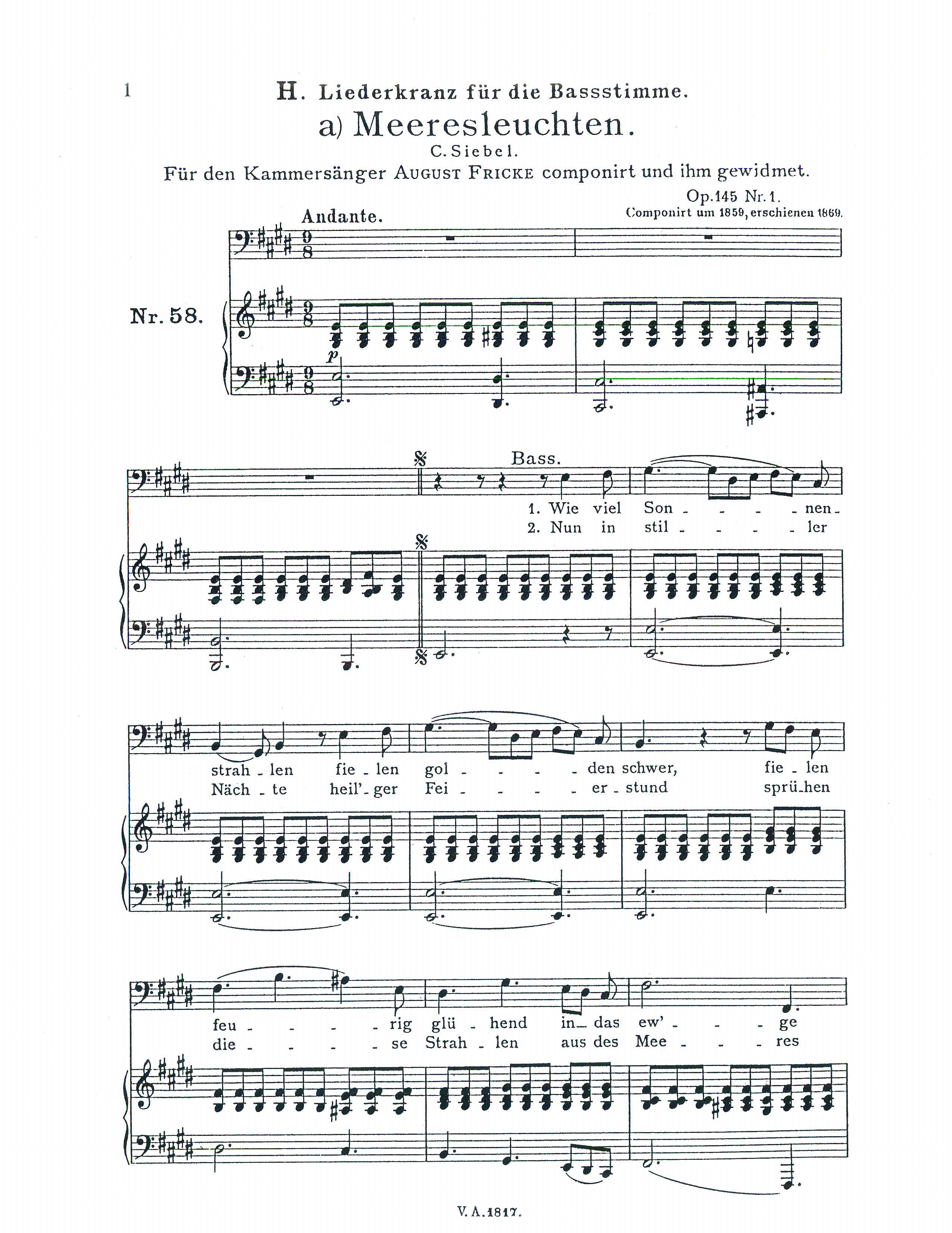 Classical Vocal Reprints Product Page Sheet Music Pdf
